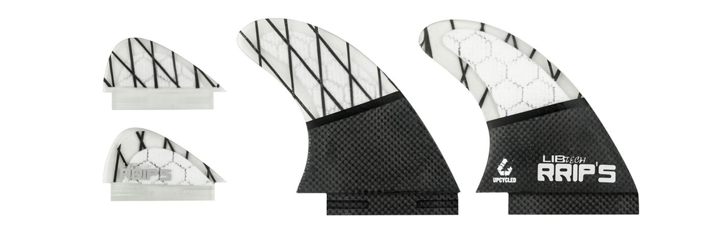 Lib Tech carbon wakesurf fins