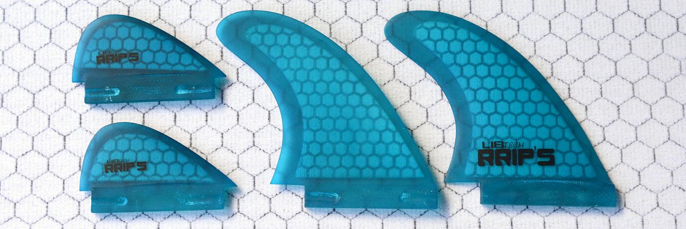 Lib Tech wakesurf fins